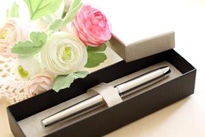 万年筆をプレゼント
